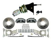 1966-75 Ford Bronco Front Disc Brake Kit - Power