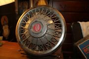 Vintage Hubcap 12-3/4 Wire Spokes 1980-1982 Ford Ltd Cover 15 Wheel