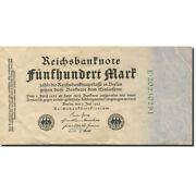 [278647] Banknote Germany 500 Mark 1922 1922-07-07 Km74b Unc