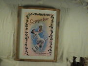 Vintage Olympia Beer Lithograph Print Capital Brewing Co. Olympia Wa.