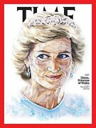 Time Magazine March 5, 2020 Diana, Princess Of Wales,1987 100 Women Of The Year