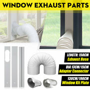 130cm/190cm Adjustable Window Kit Exhaust Parts For Portable Air Conditioner