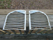 Anitique Vintage 1950 Austin Of England Grille 7,2914,1 Lh And/or 7,2913,1 Rh