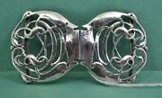 Arts And Crafts Sterling Silver Clasp Cymenie Liberty And Co Archibald Knox 1906