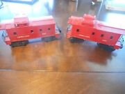 Lionel 6047 And 6057 Cabooses