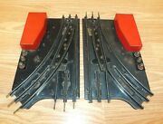 Lot Of 2 Vintage Mar Toys Electric Switch For Train Set Track Read