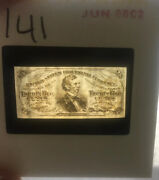 Rare Vintage Currency 35mm Photo Slides Various 146 Slides Money Counterfeit