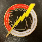 Operation Iraqi Freedom Challenge Coin 06-08   Pre-owned   Ships Fast