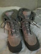 Ugg Boots Adirondack Ll Gray Size 7.5 Women Euc Great Condition Perfect 4 Cold