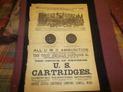 1889 Forest And Stream Magazine W/ Hunting And Fishing And Gun Ads-dodge Decoys