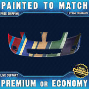 New Painted To Match - Front Bumper For 2009 2010 Pontiac Vibe Base Awd 09 10