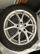 Used Winter Tires And Rims Set Of 4 For 2014 Cadillac Cts Awd