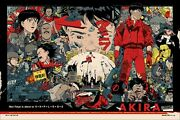 Akira By Tyler Stout - Regular - S And N - Very Rare Sold Out Mondo Print