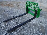 John Deere Tractor Attachment - 72 Pallet Forks 600 700 Series - Ship 199