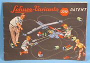 1955-1956 Schuco Varianto 3010 Toy Catalog Germany Race Cars Trucks Battery Op