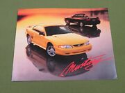 94mustanggtcoupeconvertiblespecification Data Sheet Ford Showroom Brochure