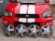 Mustang Wheel Covers 1969 Ford 14 Set Of 4 Shelby Mach 1 Boss 302 Vintage