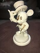 Mickey Mouse Gentleman Mickey Mouse Disney Numbered Collectible By Lenox