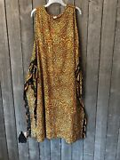 Rima 408 Leopard Print Cover Up Swim Womenand039s One Size