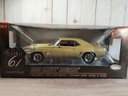 Highway 61 1969 Chevy Camaro Ss 396 And03969 118 Scale Diecast Model Car