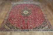 Old Wool Hand Made Oriental Floral Runner Area Rug Carpet 328 X 215 Cm
