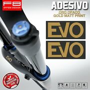 Adesivi Stickers Pegatinas Ohlins Suspension Forcelle Mtb Trail Rxf 36 Evo Fork1
