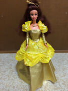 Barbie Doll Disney Beauty And The Beast Princess Belle Special Sparkles Jewel Eye