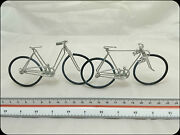 Novelty His And Hers Bikes / Bicycles Hand Made With Parker Parflex Unique Rare