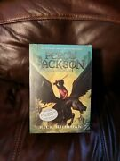 Percy Jackson And The Olympians 5 Book Set With Poster Paperback, 2014 New 1