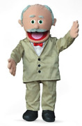 Silly Puppets 30 Pops Hispanic Grandfather Professional Performance Puppet Or