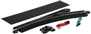 Bachmann Trains - Snap-fit E-z Track Remote Turnout - Right 1/card - Steel Alloy