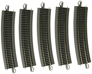 Bachmann Trains Snap-fit E-z Track Worldandrsquos Greatest Hobby First Railroad Track -