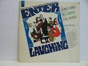 Enter Laughing 33 Rpm Music From The Orig. Motion Pic. Soundtrack Demo Vg++