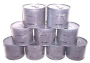 Lot Of 9 Zombie Apocalypse Prepper Lot Gas Mask Filter In Canister M11 New