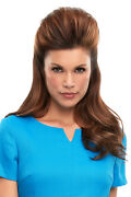 Top This By Jon Renau 8 12 Or 16 Remy Human Hair Topper /hairpiece Any Color