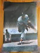 Jim Lonborg Signed Boston Red Sox Sports Illustrated Poster '67 Impossible Dream