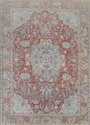 Antique Pre-1900 Khoy Wool Oriental Classic Area Rug Hand-knotted 9x12 Carpet