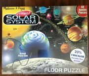 Melissa And Doug Solar System Floor Puzzle 48 Pcs 2'x 3' Ages 3+ New, Free Ship