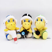 Super Mario Bros Troopa With Hammer Boomerang Bomb Stuffed Doll Plush 8.5in