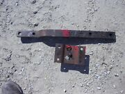 Ford 881 Tractor Original Drawbar Tongue Hitch And Mounting Bracket Brace