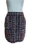 Ann Taylor Loft Boucle Tweed Above Knee Womenand039s Skirt Size 0