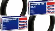New Parts Unlimited 80/100-21 And 100/100-18 Heavy-duty Off-road Inner Tube Set