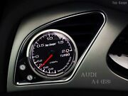 52mm Or 60mm Boost Gauge No Wire Cutting With Free Gauge Pod Fits Audi A4 B8