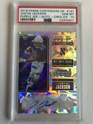 2018 Panini Contenders Justin Jackson Cracked Ice Auto Psa Gem 10 Chargers 07/23