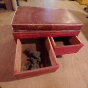 Vintage Ford Antique Clay Modeler Pin Striper Stool Creeper Cart   2002