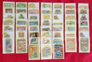 Wacky Packages Ans9 Gold Flash Foil Set 52/55 In Nm/mt @@ Almost Complete @@