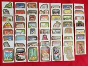 Wacky Packages Ans10 Complete Gold Foil Set 1-55 In Nm/mt @@ Super Rare @@