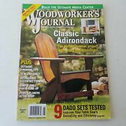 Woodworkers Journal August 2011 Volume 35 Number 4  071658021235