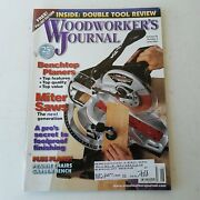 Woodworkers Journal May/june 2001 Volume 25 Number 3  071486021230