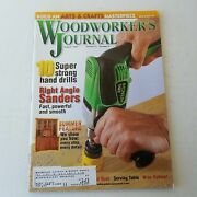 Woodworkers Journal July/august 2003 Volume 27 Number 4